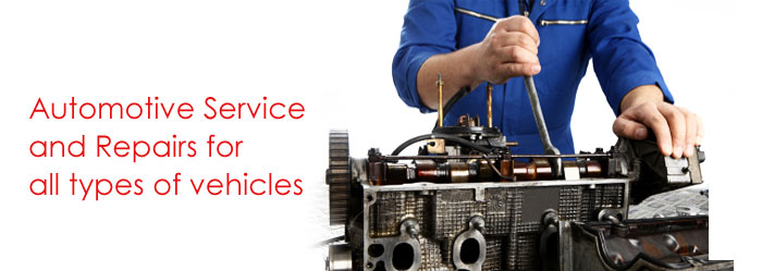 Automative service and repairs for all types of vehicles.