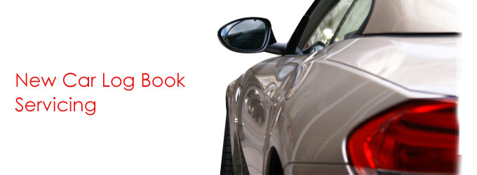 New car logbook servicing